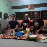 Lezioni e pratica di cucina ai Volontari