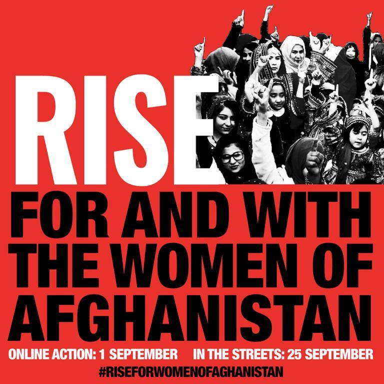 25 settembre: intervento corale delle donne di Oikos per le donne afghane